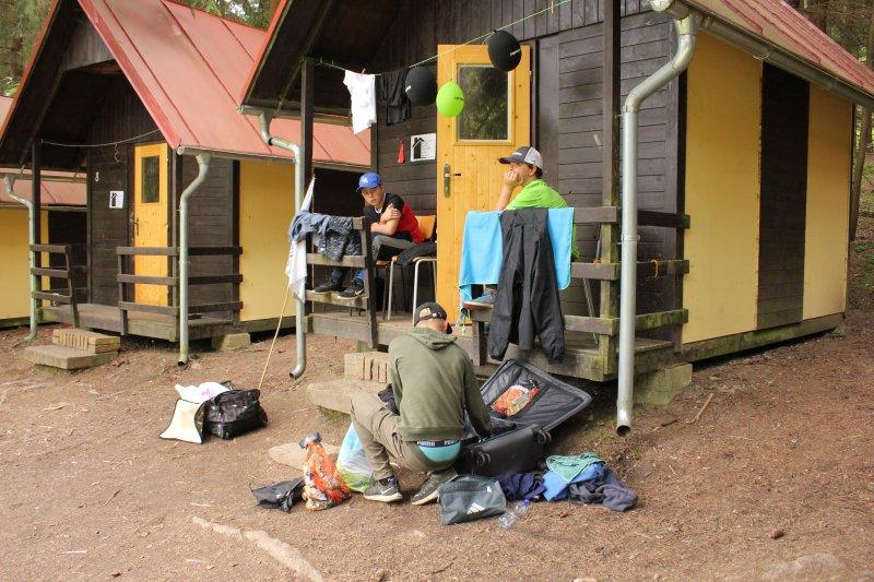 Dění v táboře